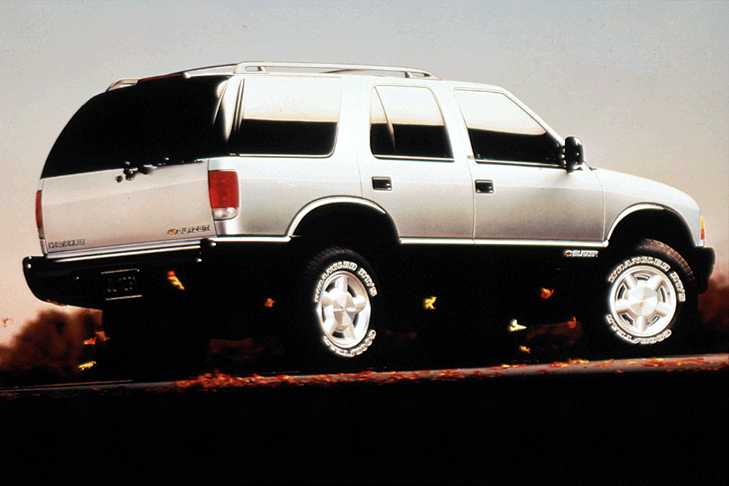 1996 chevy s10 owners manual