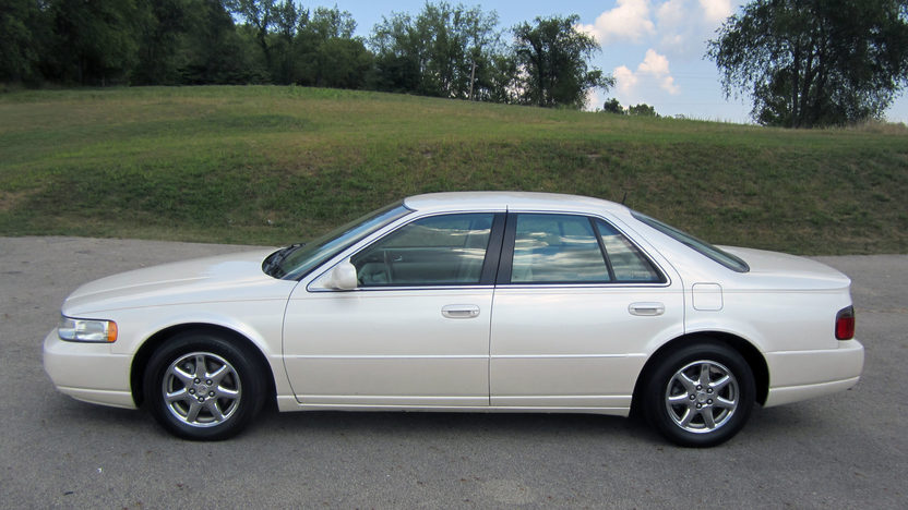 2003 cadillac seville sts owners manual