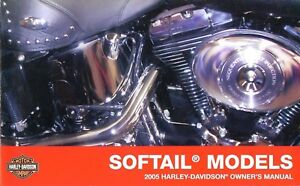2005 softail deluxe owners manual