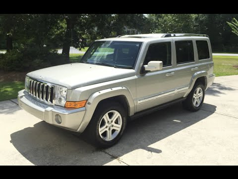 2009 jeep commander owners manual