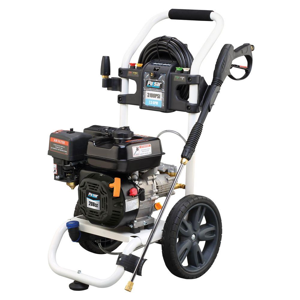 generac 3100 psi pressure washer user manual