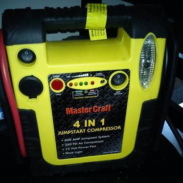 speedway series 2 in 1 jumpstart with air compressor manual