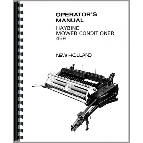 new holland 488 haybine owners manual pdf